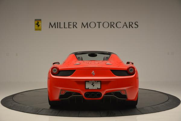 Used 2014 Ferrari 458 Spider for sale Sold at Bentley Greenwich in Greenwich CT 06830 6