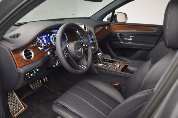 New 2018 Bentley Bentayga Onyx for sale Sold at Bentley Greenwich in Greenwich CT 06830 25