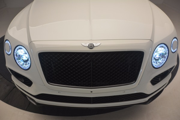 New 2018 Bentley Bentayga Black Edition for sale Sold at Bentley Greenwich in Greenwich CT 06830 14