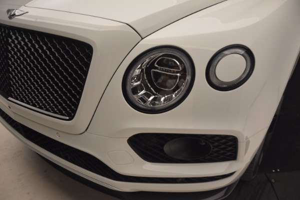 New 2018 Bentley Bentayga Black Edition for sale Sold at Bentley Greenwich in Greenwich CT 06830 17