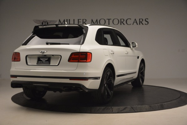 New 2018 Bentley Bentayga Black Edition for sale Sold at Bentley Greenwich in Greenwich CT 06830 7