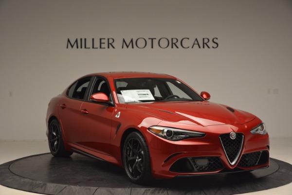 New 2017 Alfa Romeo Giulia Quadrifoglio Quadrifoglio for sale Sold at Bentley Greenwich in Greenwich CT 06830 11