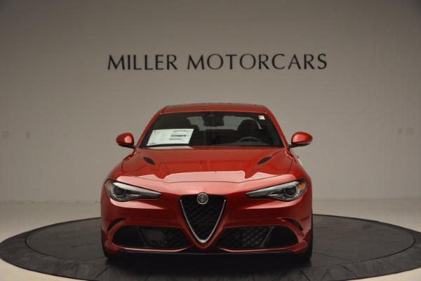 New 2017 Alfa Romeo Giulia Quadrifoglio Quadrifoglio for sale Sold at Bentley Greenwich in Greenwich CT 06830 12