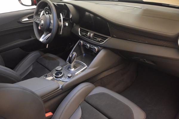New 2017 Alfa Romeo Giulia Quadrifoglio Quadrifoglio for sale Sold at Bentley Greenwich in Greenwich CT 06830 20