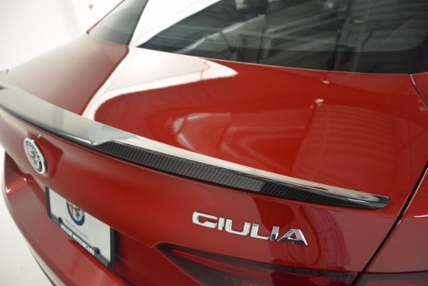 New 2017 Alfa Romeo Giulia Quadrifoglio Quadrifoglio for sale Sold at Bentley Greenwich in Greenwich CT 06830 27