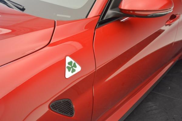 New 2017 Alfa Romeo Giulia Quadrifoglio Quadrifoglio for sale Sold at Bentley Greenwich in Greenwich CT 06830 28