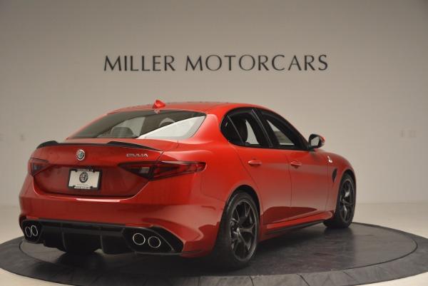 New 2017 Alfa Romeo Giulia Quadrifoglio Quadrifoglio for sale Sold at Bentley Greenwich in Greenwich CT 06830 7