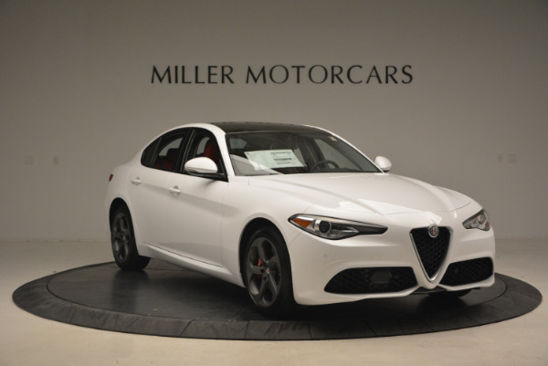 New 2017 Alfa Romeo Giulia Ti Q4 for sale Sold at Bentley Greenwich in Greenwich CT 06830 13