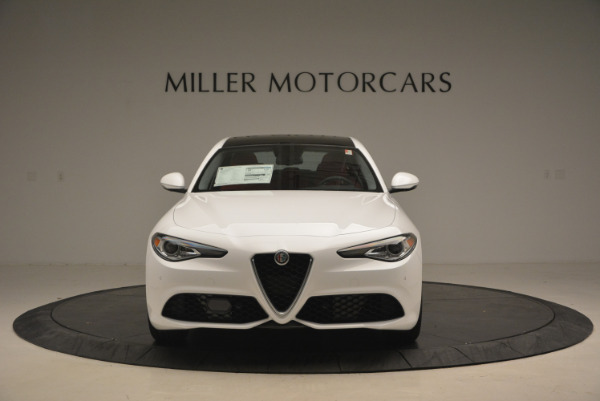 New 2017 Alfa Romeo Giulia Ti Q4 for sale Sold at Bentley Greenwich in Greenwich CT 06830 14