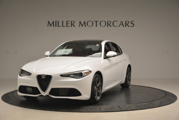 New 2017 Alfa Romeo Giulia Ti Q4 for sale Sold at Bentley Greenwich in Greenwich CT 06830 1