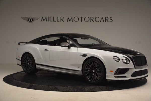 New 2017 Bentley Continental GT Supersports for sale Sold at Bentley Greenwich in Greenwich CT 06830 10