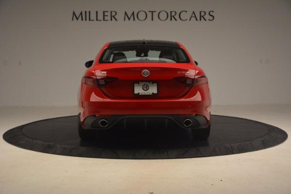 New 2017 Alfa Romeo Giulia Ti Sport Q4 for sale Sold at Bentley Greenwich in Greenwich CT 06830 5