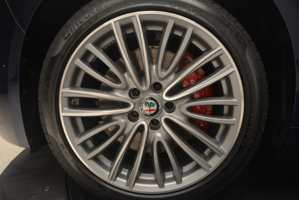 New 2017 Alfa Romeo Giulia Ti Q4 for sale Sold at Bentley Greenwich in Greenwich CT 06830 21