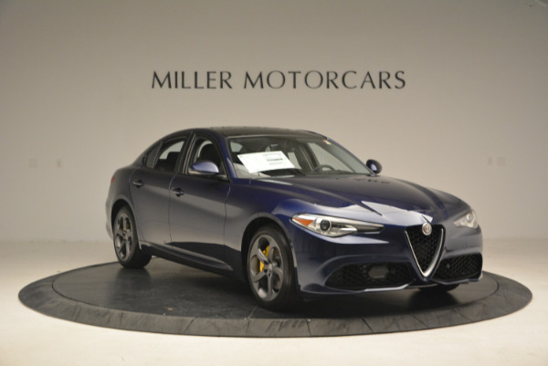 New 2017 Alfa Romeo Giulia Sport Q4 for sale Sold at Bentley Greenwich in Greenwich CT 06830 11