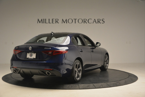 New 2017 Alfa Romeo Giulia Sport Q4 for sale Sold at Bentley Greenwich in Greenwich CT 06830 7