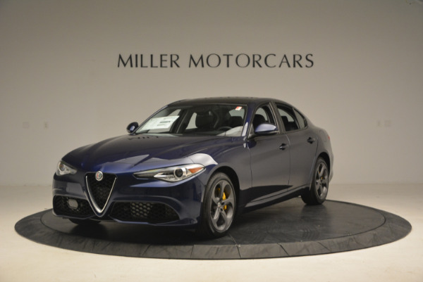 New 2017 Alfa Romeo Giulia Sport Q4 for sale Sold at Bentley Greenwich in Greenwich CT 06830 1