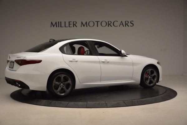 New 2017 Alfa Romeo Giulia Q4 for sale Sold at Bentley Greenwich in Greenwich CT 06830 10