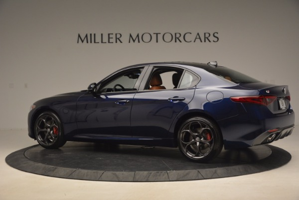 New 2017 Alfa Romeo Giulia Ti Q4 for sale Sold at Bentley Greenwich in Greenwich CT 06830 4