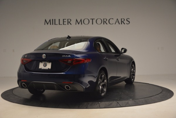 New 2017 Alfa Romeo Giulia Ti Q4 for sale Sold at Bentley Greenwich in Greenwich CT 06830 7
