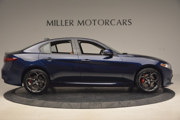 New 2017 Alfa Romeo Giulia Ti Q4 for sale Sold at Bentley Greenwich in Greenwich CT 06830 9