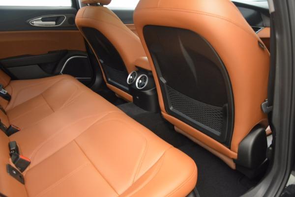 New 2017 Alfa Romeo Giulia Ti Q4 for sale Sold at Bentley Greenwich in Greenwich CT 06830 22