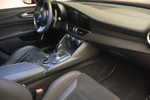 Used 2017 Alfa Romeo Giulia Quadrifoglio for sale Sold at Bentley Greenwich in Greenwich CT 06830 21