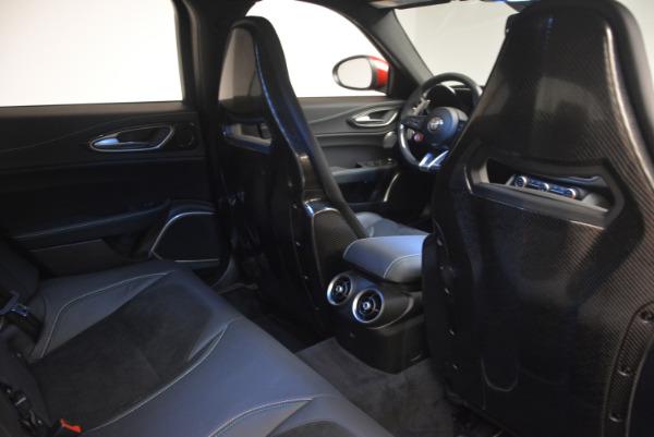 Used 2017 Alfa Romeo Giulia Quadrifoglio for sale Sold at Bentley Greenwich in Greenwich CT 06830 25