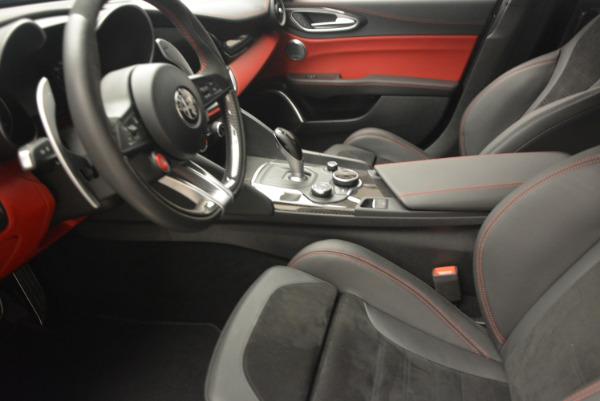 New 2017 Alfa Romeo Giulia Quadrifoglio for sale Sold at Bentley Greenwich in Greenwich CT 06830 15