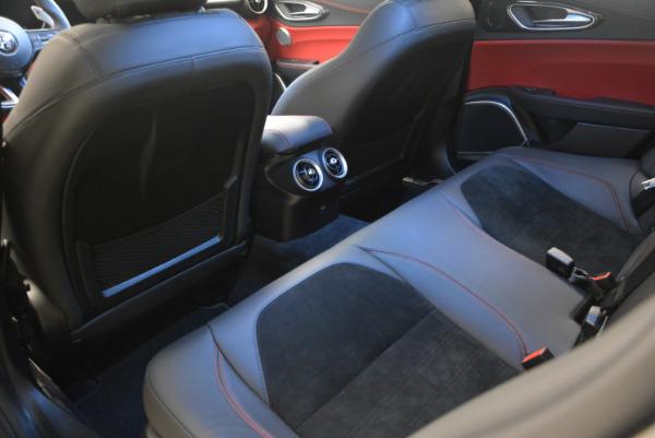 New 2017 Alfa Romeo Giulia Quadrifoglio for sale Sold at Bentley Greenwich in Greenwich CT 06830 19