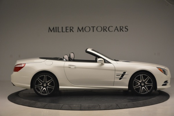 Used 2015 Mercedes Benz SL-Class SL 550 for sale Sold at Bentley Greenwich in Greenwich CT 06830 10