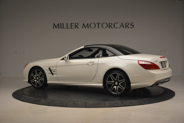 Used 2015 Mercedes Benz SL-Class SL 550 for sale Sold at Bentley Greenwich in Greenwich CT 06830 18