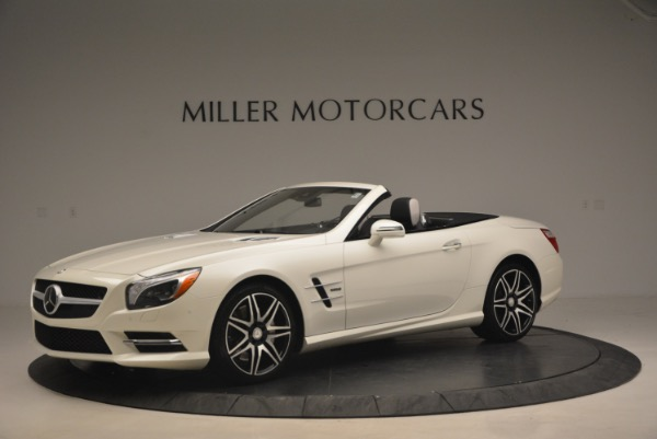 Used 2015 Mercedes Benz SL-Class SL 550 for sale Sold at Bentley Greenwich in Greenwich CT 06830 2