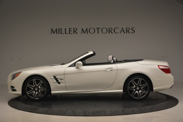 Used 2015 Mercedes Benz SL-Class SL 550 for sale Sold at Bentley Greenwich in Greenwich CT 06830 3