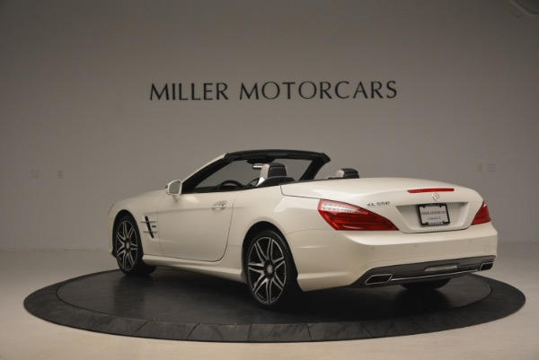 Used 2015 Mercedes Benz SL-Class SL 550 for sale Sold at Bentley Greenwich in Greenwich CT 06830 5