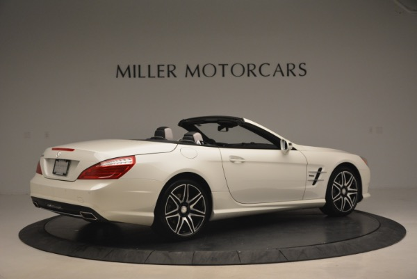 Used 2015 Mercedes Benz SL-Class SL 550 for sale Sold at Bentley Greenwich in Greenwich CT 06830 8