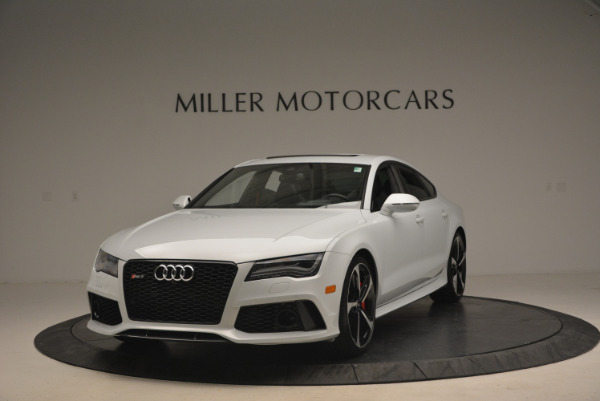 Used 2014 Audi RS 7 4.0T quattro Prestige for sale Sold at Bentley Greenwich in Greenwich CT 06830 1