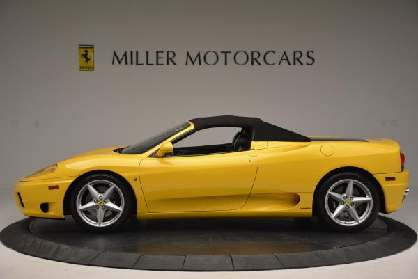 Used 2003 Ferrari 360 Spider 6-Speed Manual for sale Sold at Bentley Greenwich in Greenwich CT 06830 15