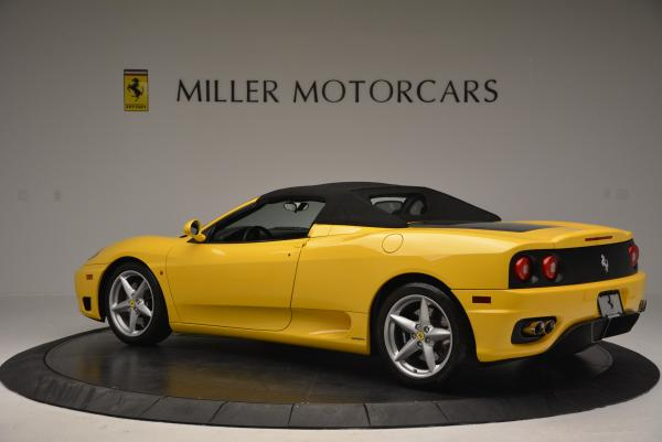 Used 2003 Ferrari 360 Spider 6-Speed Manual for sale Sold at Bentley Greenwich in Greenwich CT 06830 16