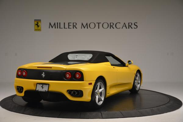 Used 2003 Ferrari 360 Spider 6-Speed Manual for sale Sold at Bentley Greenwich in Greenwich CT 06830 19