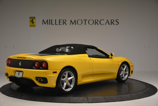 Used 2003 Ferrari 360 Spider 6-Speed Manual for sale Sold at Bentley Greenwich in Greenwich CT 06830 20