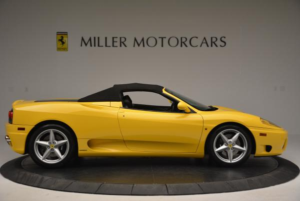 Used 2003 Ferrari 360 Spider 6-Speed Manual for sale Sold at Bentley Greenwich in Greenwich CT 06830 21