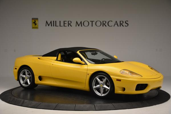 Used 2003 Ferrari 360 Spider 6-Speed Manual for sale Sold at Bentley Greenwich in Greenwich CT 06830 22