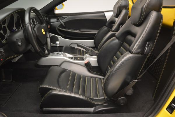 Used 2003 Ferrari 360 Spider 6-Speed Manual for sale Sold at Bentley Greenwich in Greenwich CT 06830 26