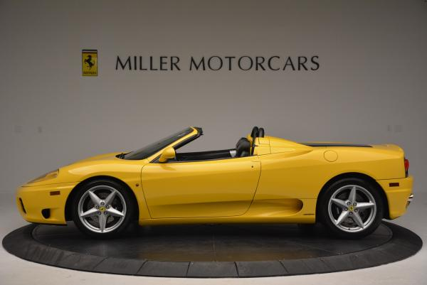 Used 2003 Ferrari 360 Spider 6-Speed Manual for sale Sold at Bentley Greenwich in Greenwich CT 06830 3