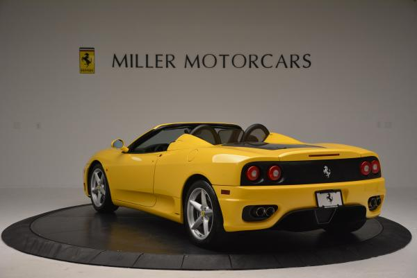 Used 2003 Ferrari 360 Spider 6-Speed Manual for sale Sold at Bentley Greenwich in Greenwich CT 06830 5