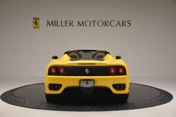 Used 2003 Ferrari 360 Spider 6-Speed Manual for sale Sold at Bentley Greenwich in Greenwich CT 06830 6