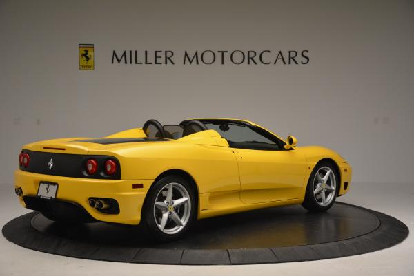 Used 2003 Ferrari 360 Spider 6-Speed Manual for sale Sold at Bentley Greenwich in Greenwich CT 06830 8