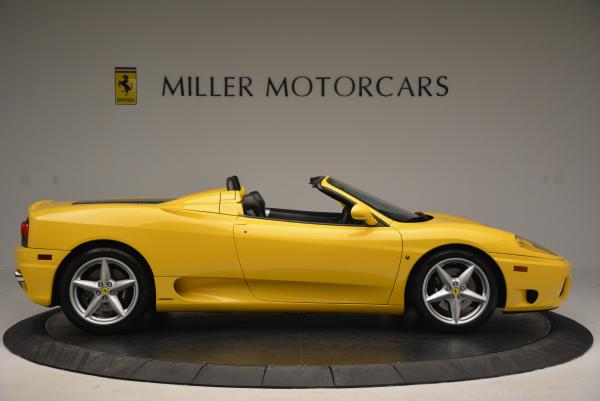 Used 2003 Ferrari 360 Spider 6-Speed Manual for sale Sold at Bentley Greenwich in Greenwich CT 06830 9