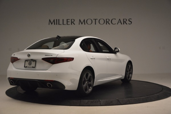 New 2017 Alfa Romeo Giulia Q4 for sale Sold at Bentley Greenwich in Greenwich CT 06830 8