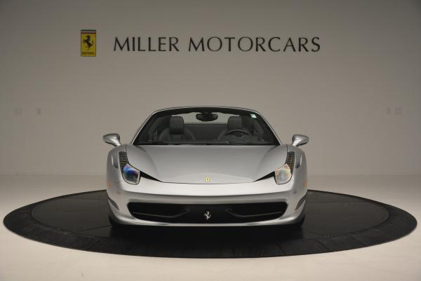 Used 2013 Ferrari 458 Spider for sale Sold at Bentley Greenwich in Greenwich CT 06830 12